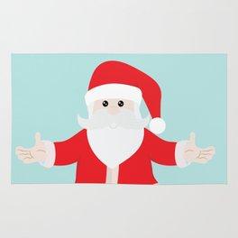 Christmas Santa Claus is Coming to Hug You Rug