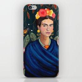 Frida et sa nature vivante iPhone Skin