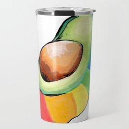 the gay avocado Travel Mug