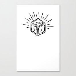 Cult Cube Canvas Print