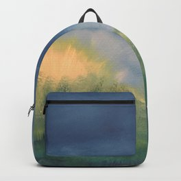 SunnySide Up - Abstract Nature Backpack