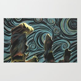 Pillars of Creation/Starry Night Rug