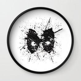 Dead Pool Eyes Splash Wall Clock