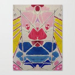 Talking s-it Canvas Print