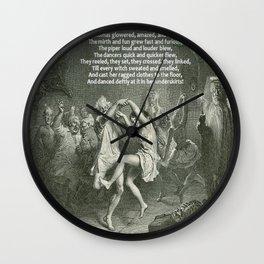 Tam O'Shanter Burns Night Celebrations Wall Clock