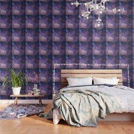 Purple Galaxy Star Travel Wallpaper