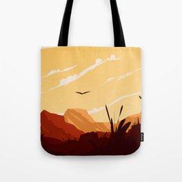 West Texas Landscape Tote Bag