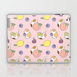 Guinea pig and fruits pattern Laptop & iPad Skin