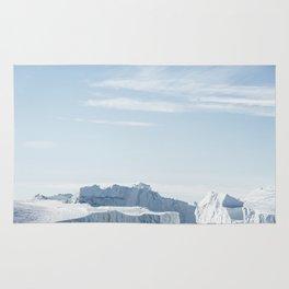Arctic Icebergs Rug