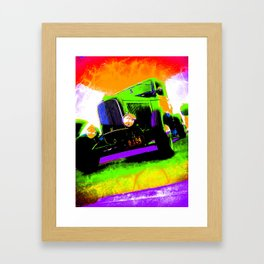 Tall Ride Framed Art Print