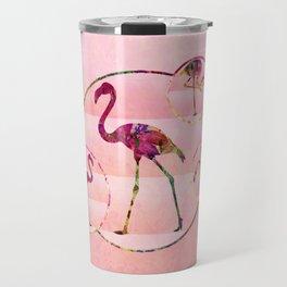 Walk Like A Flamingo Travel Mug