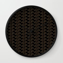 Racing Bicycle Pattern Wall Clock
