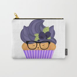 Blueberry Cuppycat Carry-All Pouch