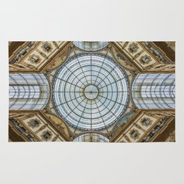 Ceiling of the Galleria Vittorio Emanuele II, Milan Rug