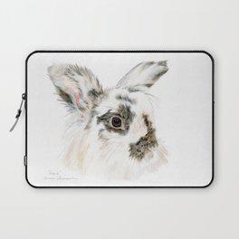 Pixie the Lionhead Rabbit by Teresa Thompson Laptop Sleeve