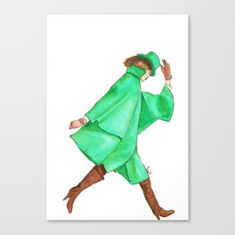 Emerald City Fashion. Canvas Print