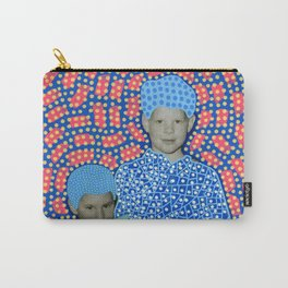 Blue Minty Friendship Carry-All Pouch