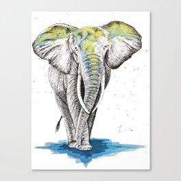 Elephant I Canvas Print