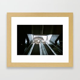 Contrasting City. Framed Art Print