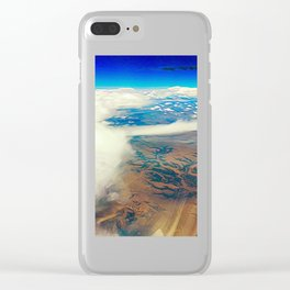 Somewhere Over the Desert Clear iPhone Case
