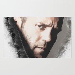 A Tribute to JASON STATHAM Rug