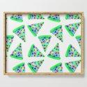Teal Rainbow Pizza! by kelseylovelle