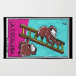 Loteria Apes #7: La Escalera Rug