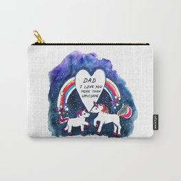 Unicorns Father's Day Carry-All Pouch
