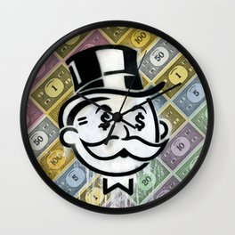 Another Day - Another Dollar Wall Clock