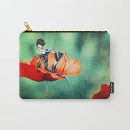 La fille au Coquelicot Carry-All Pouch