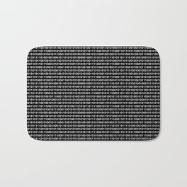 Binary Code in DOS Bath Mat