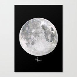 Moon #2 Canvas Print