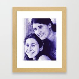 Sufi and Amanda by Ralvin Dizon Framed Art Print