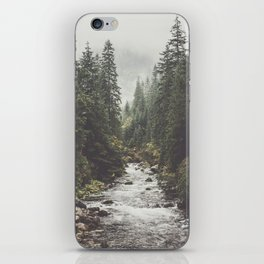 Mountain creek - Landscape and Nature Photography iPhone Skin
