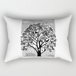 NOT just a Tree Rectangular Pillow