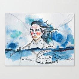 Cumbres Borrascosas Canvas Print