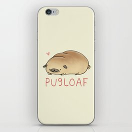 Pugloaf iPhone Skin
