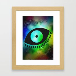 Eye 13 Framed Art Print