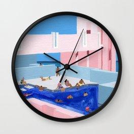 Spain Pool Wall Clock