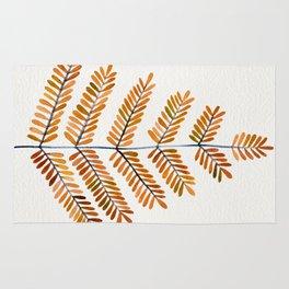 Autumn Leaflets Rug