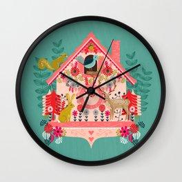 I'm Cuckoo For You - Valentines Cuckoo Clock  Wall Clock