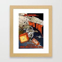 Wo Fat - FVF Poster Framed Art Print