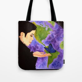 Earth's Child Tote Bag