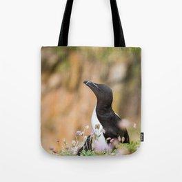 Razorbills - Ireland (RR 283) Tote Bag