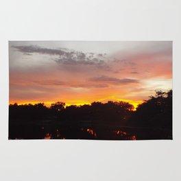Fiery Sunset Rug