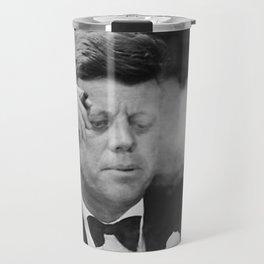 John F Kennedy Smoking Travel Mug