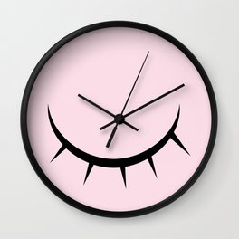 Blink Pink Wall Clock