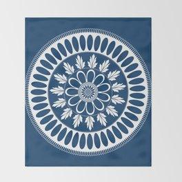 Botanical Ornament Throw Blanket