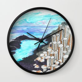 The Giants Causeway Wall Clock