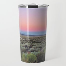 California Desert Road Travel Mug